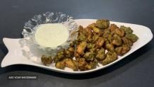 Mint Chicken Pakoras Recipe