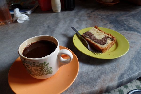 Coffee at Yut Kee